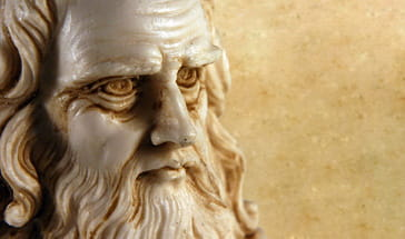 bearded old man ivory sculpture