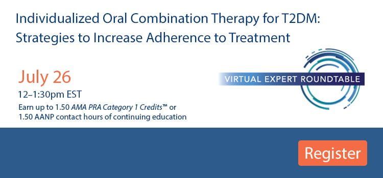 Individualized Oral Combination Therapy for T2DM -- Register Today