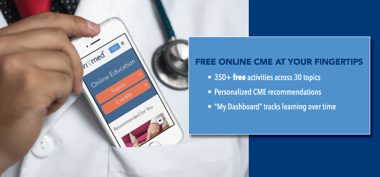 Free Online CME at Your Fingertips